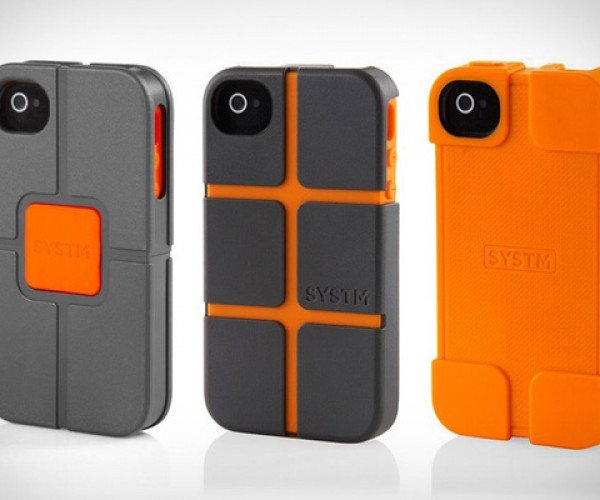 SYSTM iPhone Cases: Ruggedly Handsome