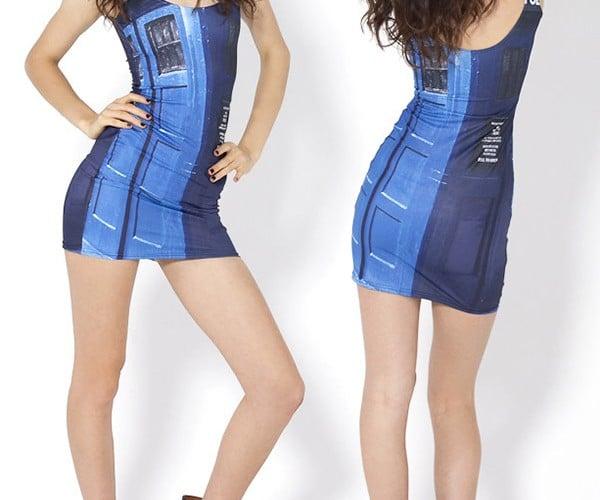 TARDIS Mini Dress and Leggings: Doctor Woo-Hoo!