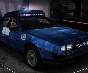 TARDIS + DeLorean = CARDIS
