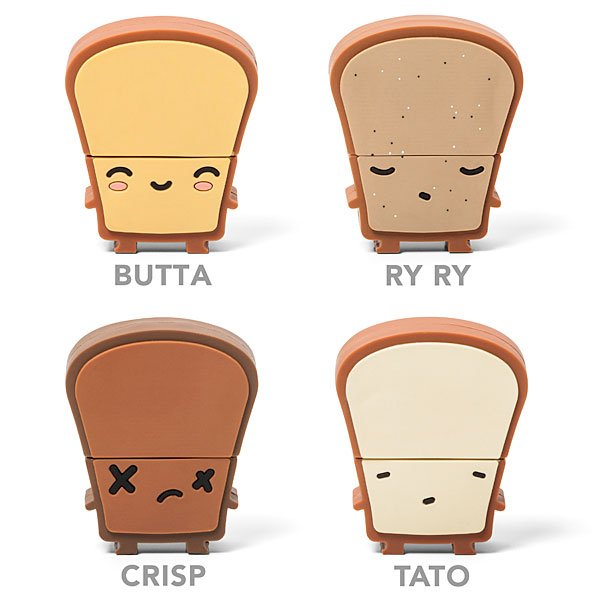 Toaster USB Hub and Toast Flash Drives: Ready to be Jammed ...