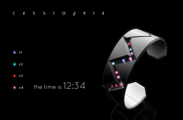 tokyoflash cassiopeia watch concept led legend