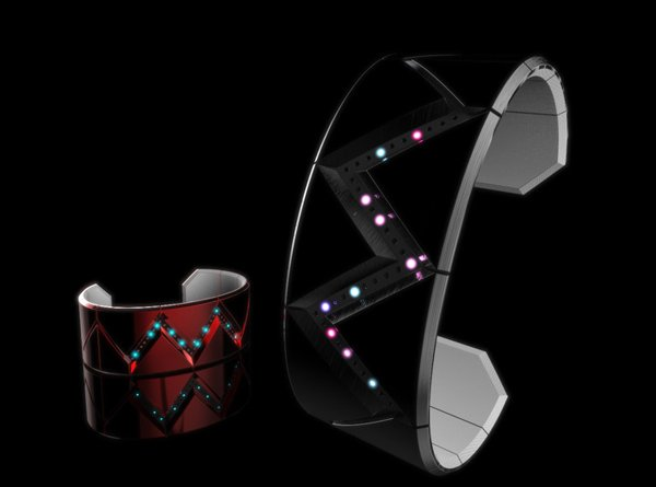 tokyoflash cassiopeia watch time concept stars led