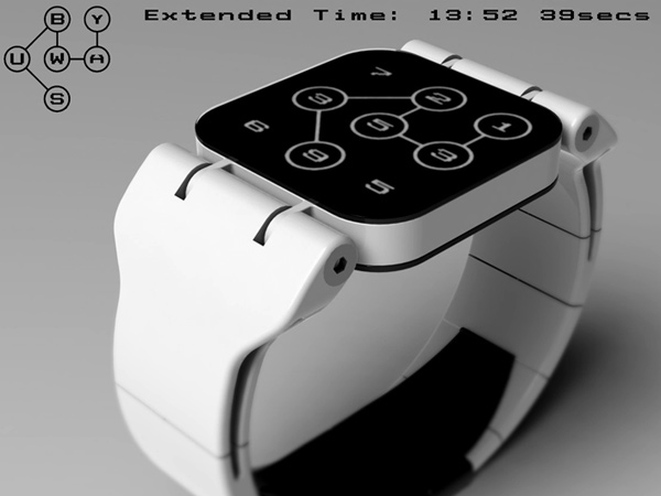 tokyoflash watch subway concept white