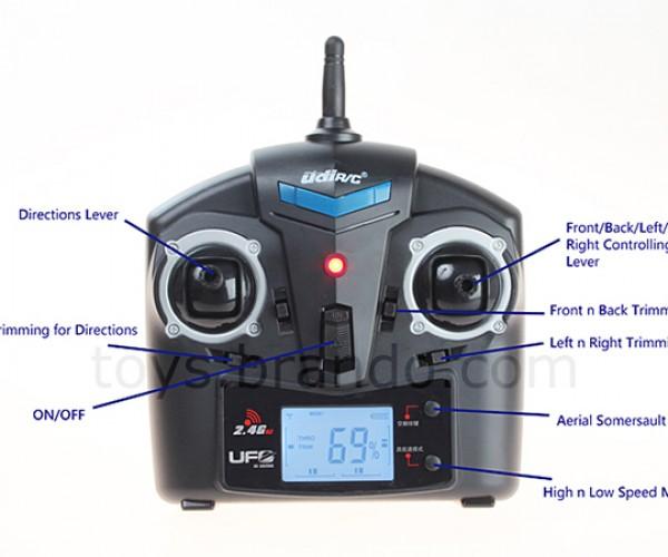 udirc remote control quadcopter 3