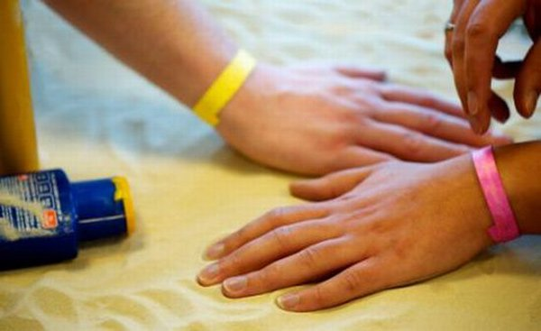 uv sensing wristband intellego sweden dye cheap