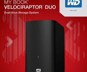 WD Unveils Crazy Fast Velociraptor Duo External Hard Drive