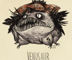Pokemon Characters Turned into Freaky Tim Burton Creations