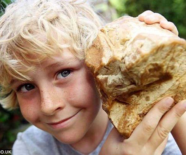 Eight-year-old UK Boy Chunk of Whale Vomit Worth $60,000+