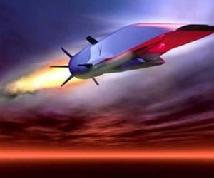 Hypersonic X-51A WaveRider Test Flight Today