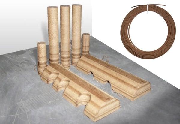 3D printing wood