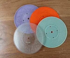 3d printed record for fisher price toy player 5