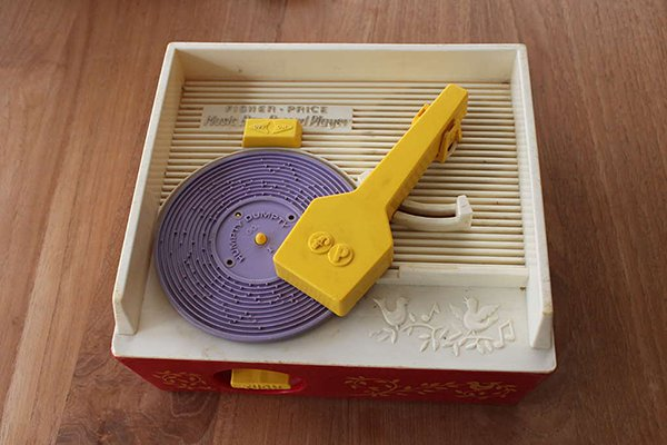 3D Printed Records for Fisher Price Toy Player: New Tunes ...