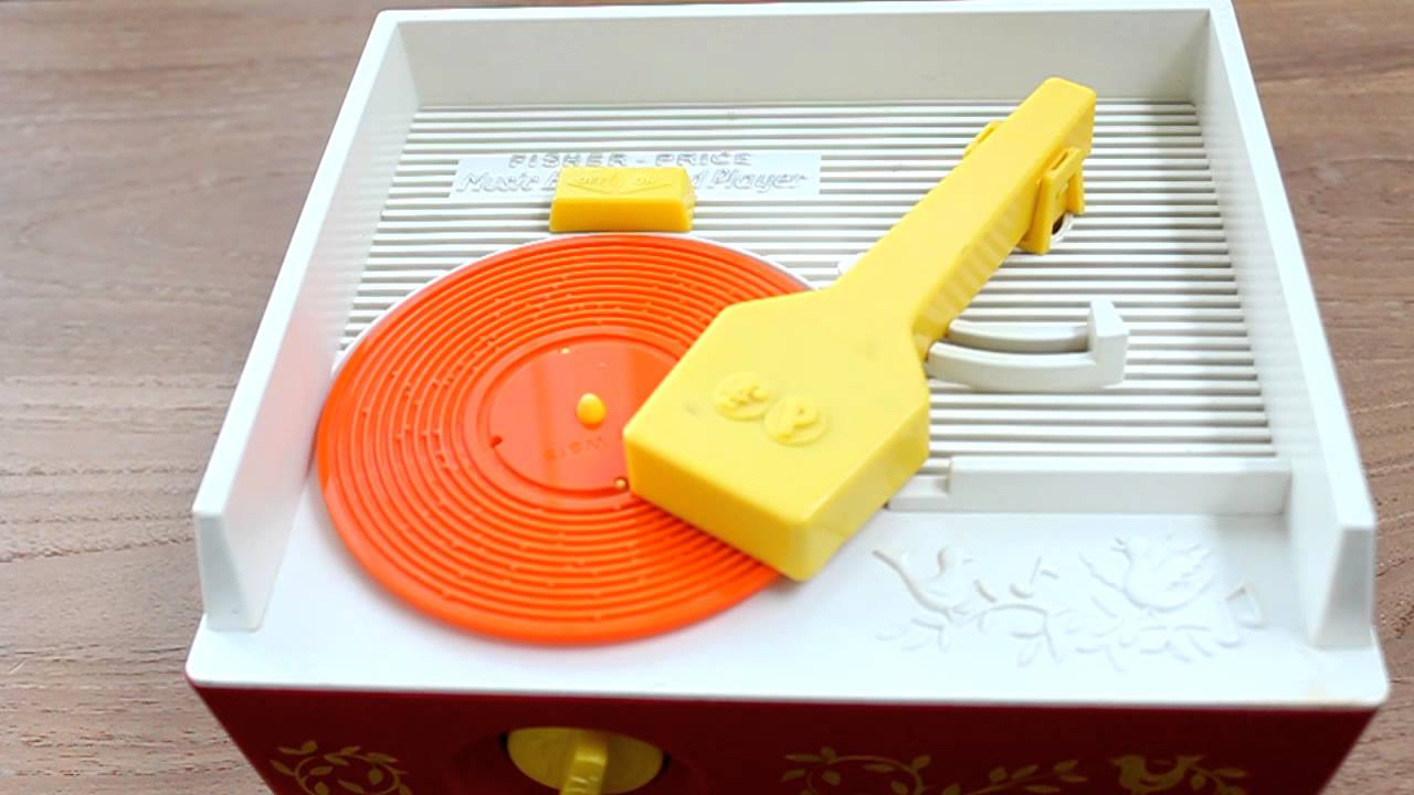 3d Printed Records For Fisher Price Toy Player New Tunes