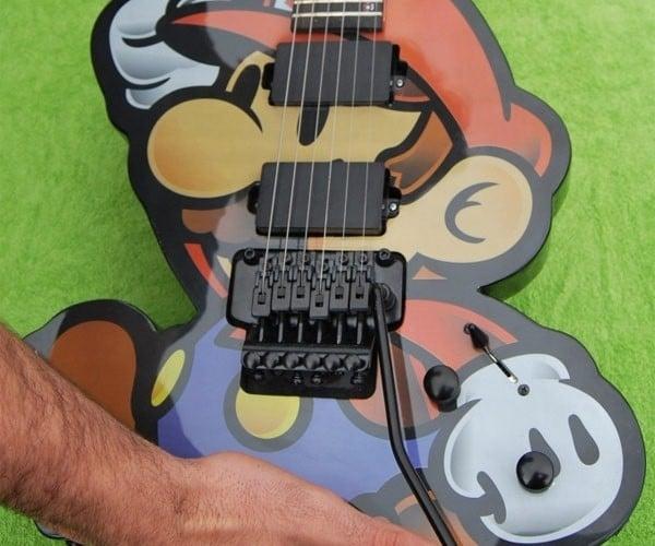 Custom Mario Guitar: Its-a Me, Guitario!