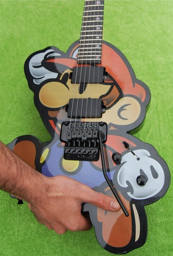 Awesome Mario Guitar