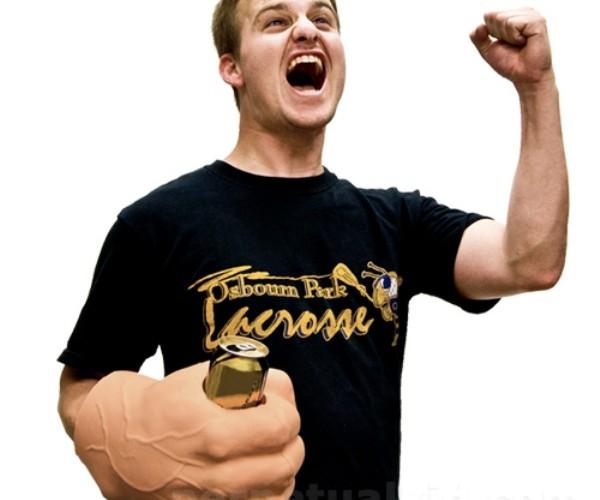 Giant Fist Koozie is Every Beer Drinker's Dream Koozie