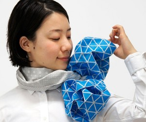 Origami Scarves Let You Fold Your Own Neckwear for the Day
