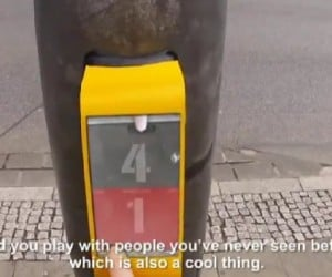 Play Pong While You Wait for the Traffic Light to Turn Green