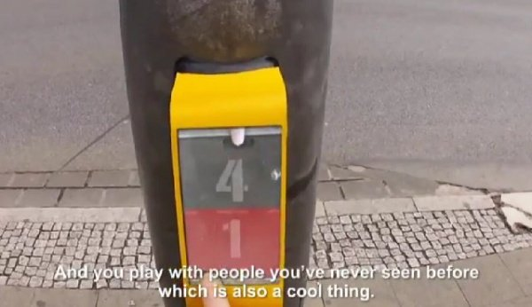 Pedestrian Crossing Lights