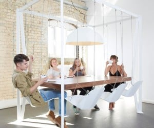Swing Table Brings the Fun Back to Mealtimes