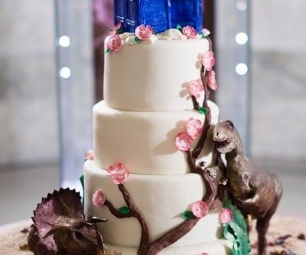Next Time on Doctor Who: Dinosaurs on a Wedding Cake