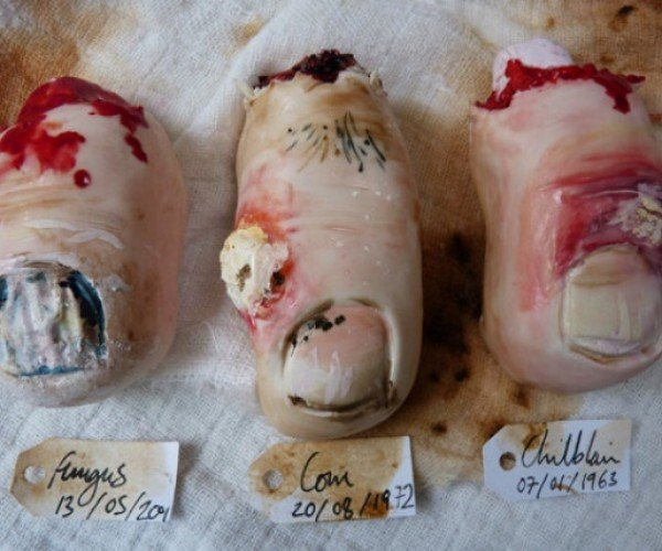 Severed Toe and Ear Cookies are Too Gross to Stomach