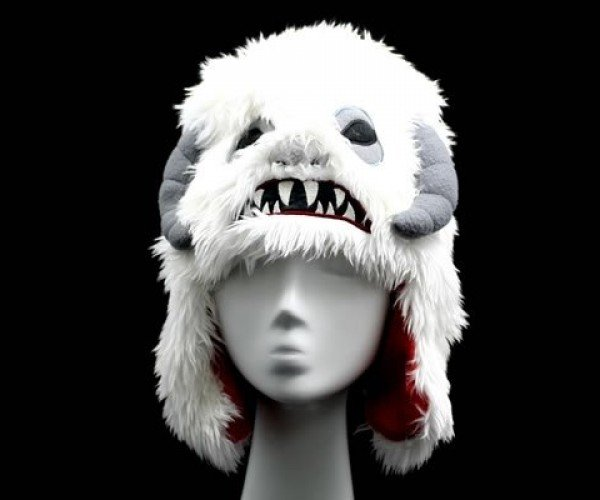 Wampa Plush Hat: When Tautaun Guts Aren't Enough to Keep You Warm