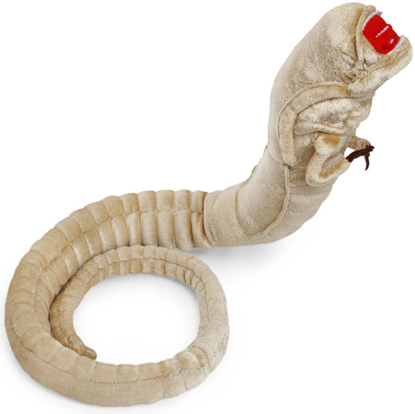 alien chestburster plush stuffed toy