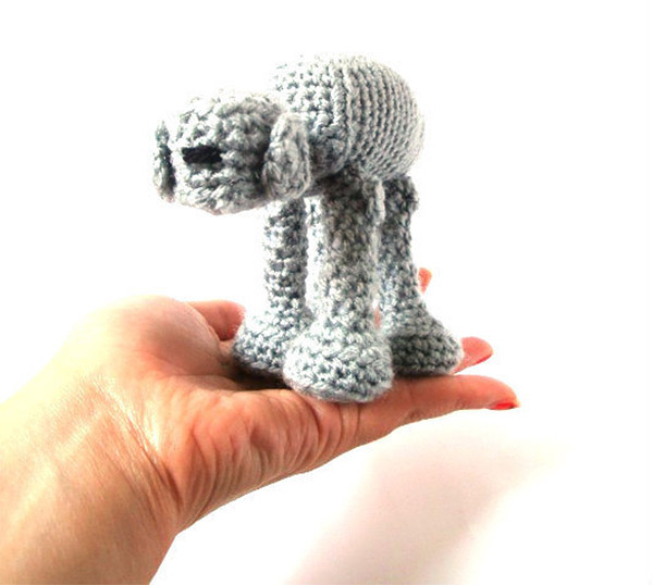 amigurumi at at star wars