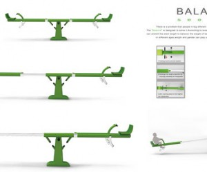 Balance Seesaw Ensures a Fair Ride for Kids, Big and Small