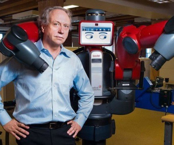 Baxter Industrial Robot is Human-Friendly (Thank Goodness.)