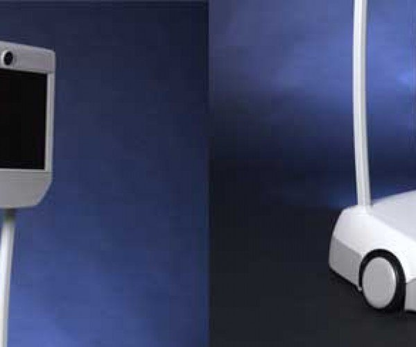 Beam Remote Presence Robot Debuts, Putting Your Big Head on Wheels