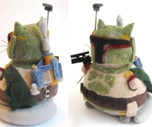 Artist Turns Geeky Characters into Fat Cats