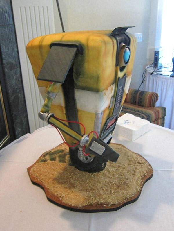 borderlands claptrap cake 2