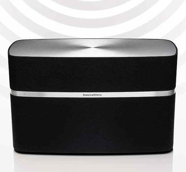 bowers wilkins a5 a7 airplay speakers ready for your new iphone technabob. Black Bedroom Furniture Sets. Home Design Ideas