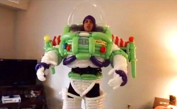 buzz lightyear balloon costume