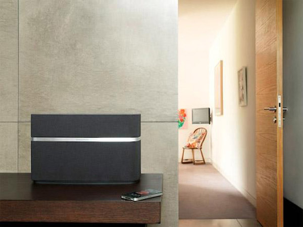 bowers wilkins speaker a5 a7 airplay iphone ipad ipod