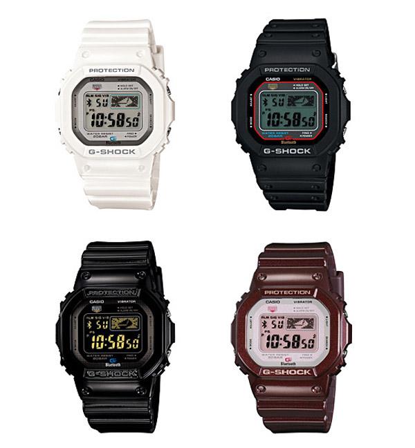 casio g-shock smartwatch iphone bluetooth watch
