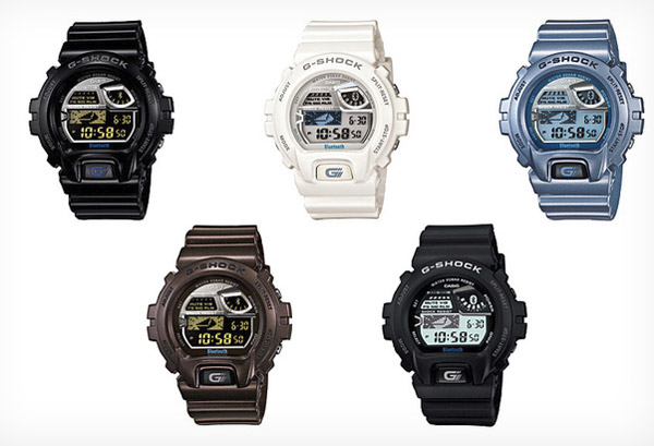 casio smartwatch g shock iphone