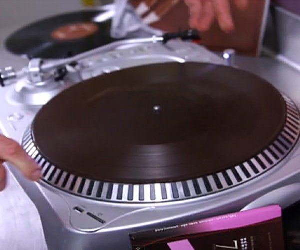 Chocolate Vinyl Record: Eat to the Beat
