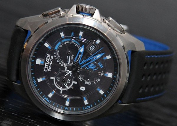 citizen proximity bluetooth watch blue