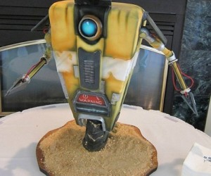 Borderlands Claptrap Wedding Cake: Save the Last Dance for Him