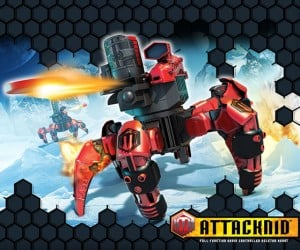 Combat Creatures Attacknid Robot Revealed: Get Ready for The Holiday Toy of the Year