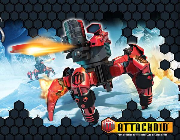 combat creatures robot