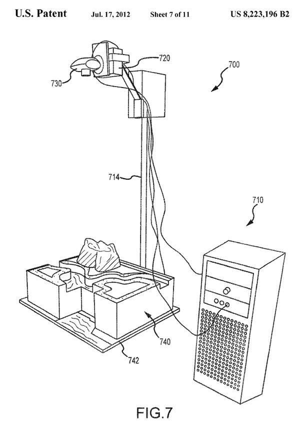 disney interactive cake patent 2