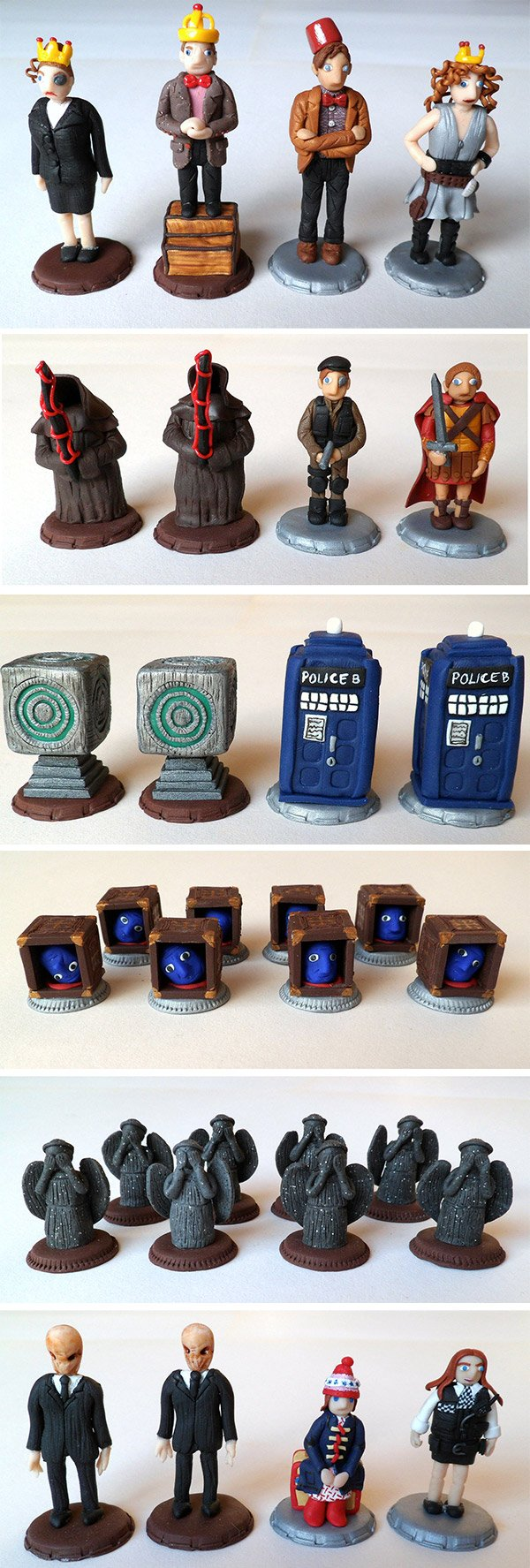 doctor who chess pieces