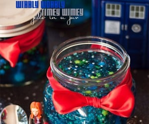 Timey Wimey Jell-O in a Jar, There's Always Room for Doctor Who