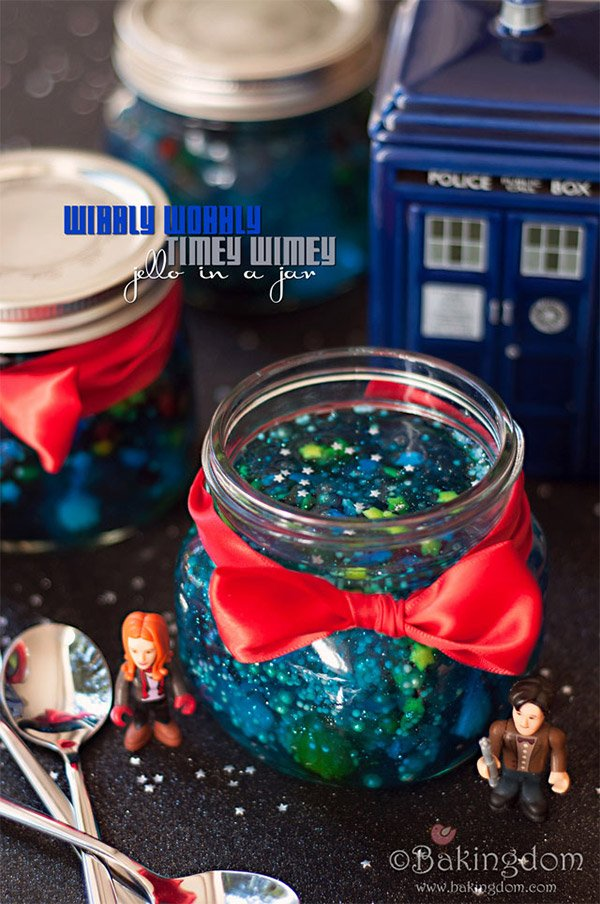 doctor who jell o jar