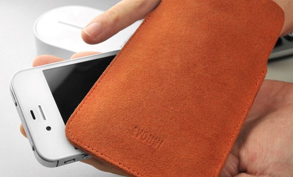 evouni nano stand pouch smartphone cleaning