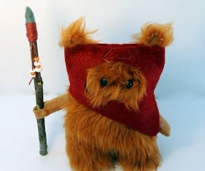 Star Wars Ewok Fur Doll is Small but Ferocious